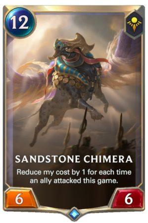 Sandstone Chimera (LoR Card)