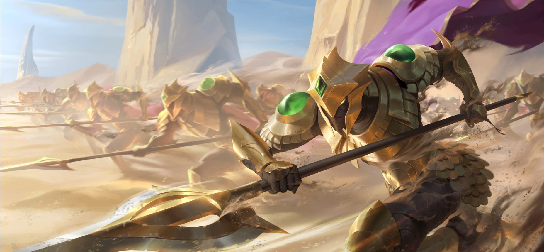 Empires of the Ascended LoR Card Impressions: Pre-Azir (Sand Soldier, Emperor's Dais, and More)