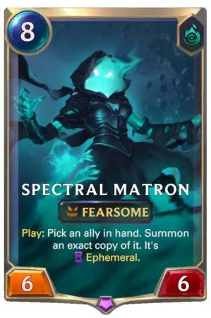Spectrak Matron (LoR Card)