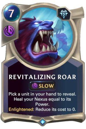 Revitalizing Roar (LoR card)