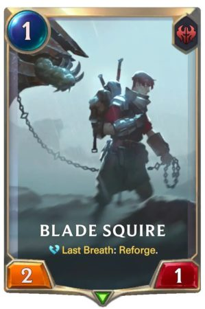 Blade Squire (LoR Card)