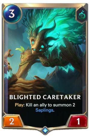 Blighted Caretaker (LoR Card)