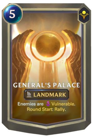 General's Palace (LoR Card)