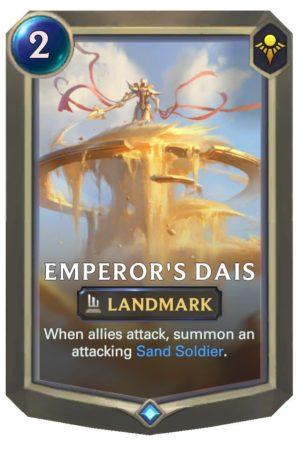 Emperor's Dais (LoR Card)