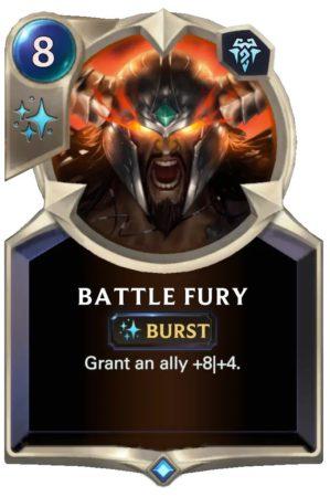 Battle Fury (LoR Card)