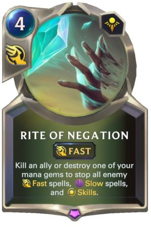 Rite of Negation (LoR Card)