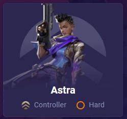 Astra Mobalytics Valorant agent card