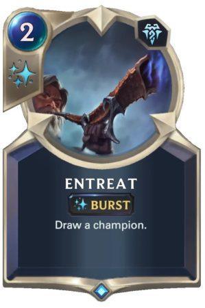 Entreat (LoR Card)