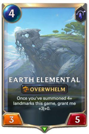 Earth Elemental (LoR Card)