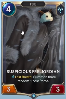 Suspicious Freljordian (LoR Custom Card)