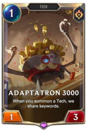 Adaptatron 3000 (LoR Card)