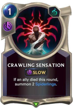 Crawling Sensation (LoR Card)