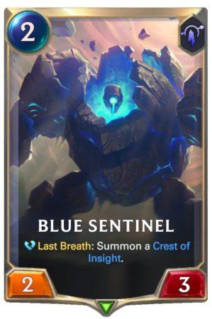 Blue Sentinel (LoR Card)