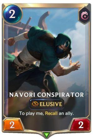 Navori Conspirator (LoR Card)