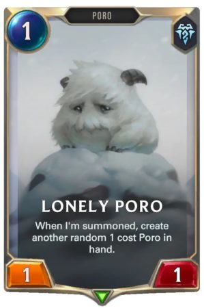 Lonly Poro (LoR Card)