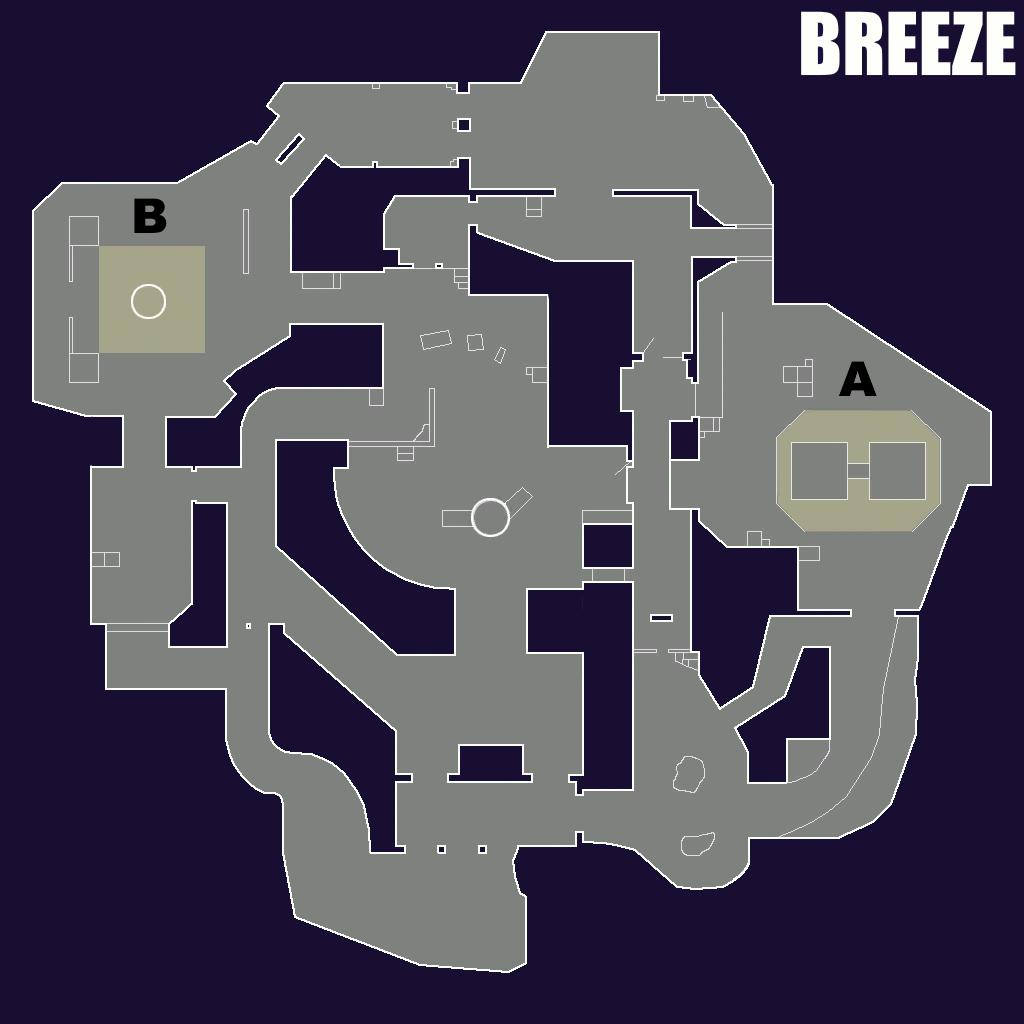 Valorant Breeze temporary map
