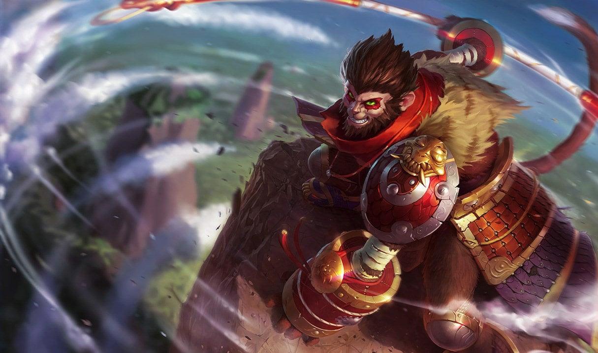 Wukong (WIld Rift Splash Art)