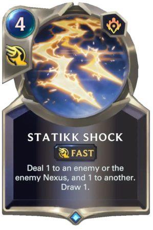 Statikk Shock (LoR Card)