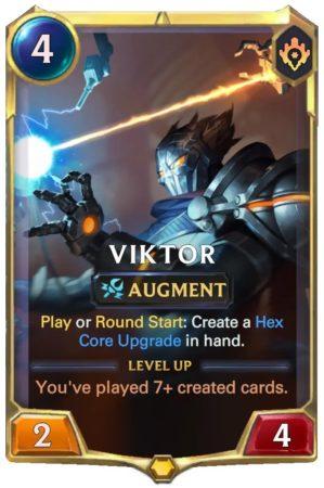 VIktor level 1 (LoR Card)