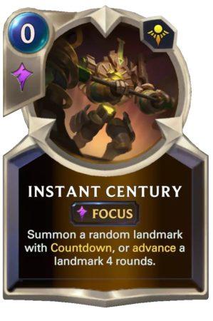 Instant Century (LoR Card)