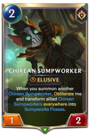Chirean Slumpworker (LoR Card)