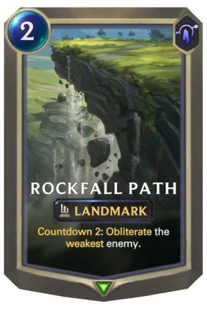 Rockfall Path (LoR Card)
