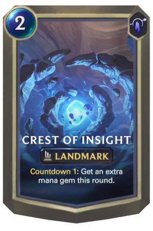 Crest of Insight (LoR Card)