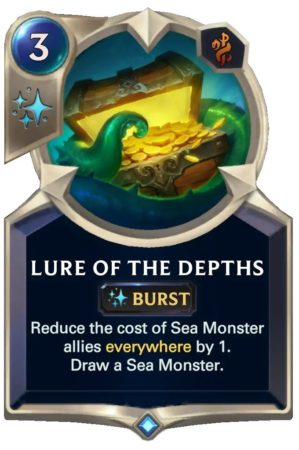 Lure of the Depths (LoR Card)