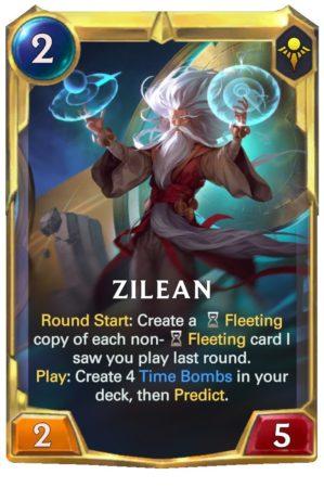 Zilean Level 2 (LoR Card)