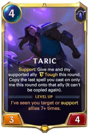 Taric level 1 (LoR card)