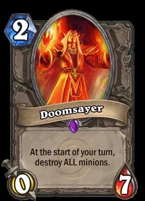 Doomsayer (Hearthstone Card)