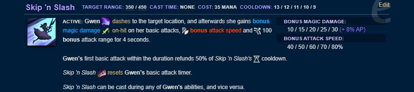 Gwen PBE E