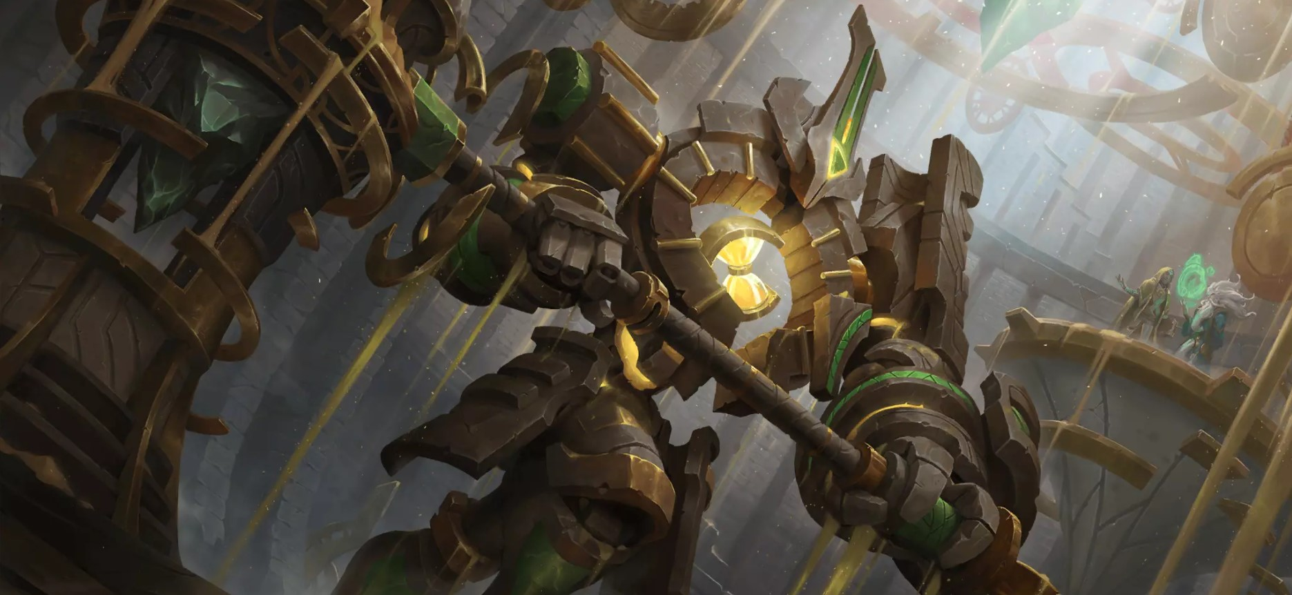 Guardians of the Ancient LoR Card Impressions: Countdown Support (The Clock Hand, Imagined Possibilities, and More)