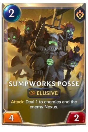 Sumpworks Posse (LoR card)