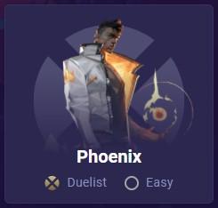 Phoenix easy difficulty card