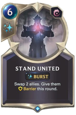 Stand United (LoR Card)