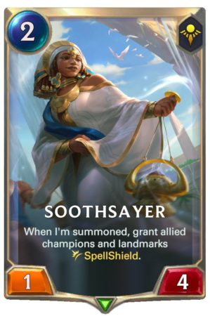Soothsayer (LoR Card)