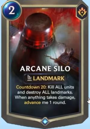 Arcane Silo (LoR Card)