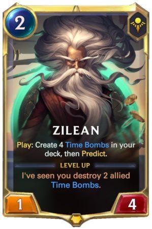 Zilean Level 1 (LoR Card)
