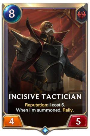 Incisive Tactician (LoR Card)