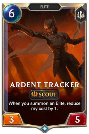 Ardent Tracker (LoR Card)