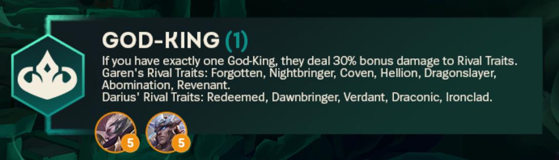 TFT Set 5 God-King