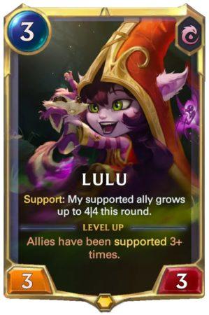 Lulu level 1 (LoR Card)
