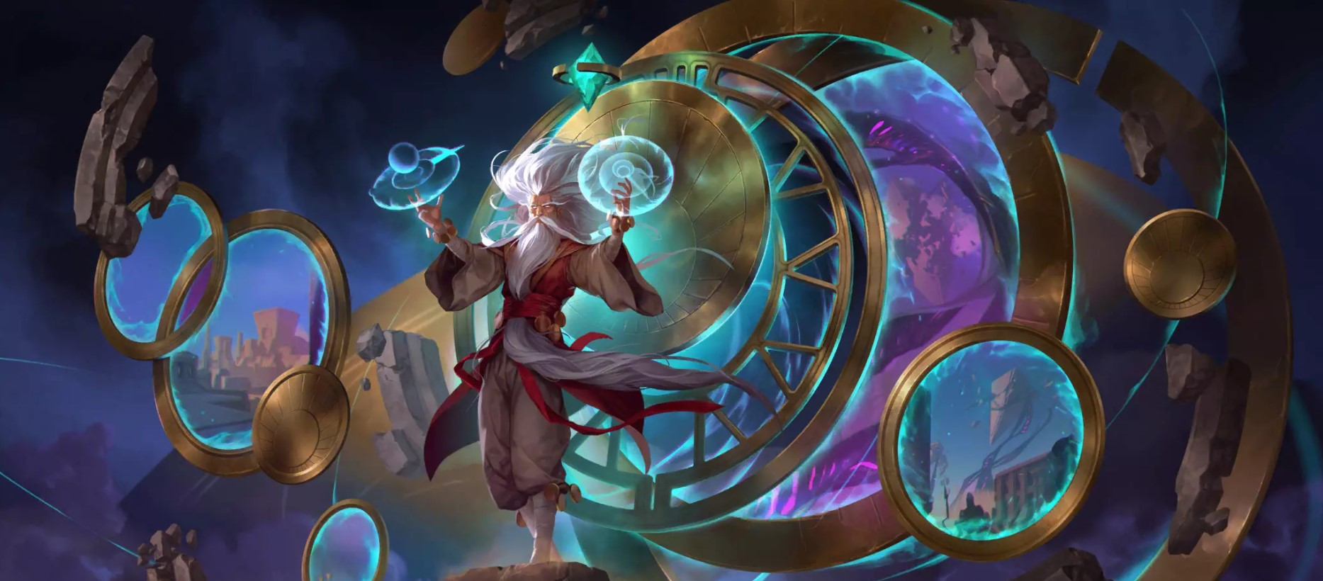 Guardians of the Ancient LoR Card Impressions: Zilean (Soothsayer, Scrying Sands, and More)