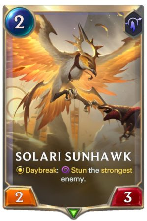 Solari Sunhawk (LoR reveal)