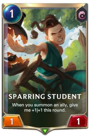Sparring Student (LoR Card)