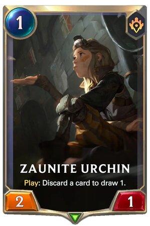 Zaunite Urchin (LoR Card)