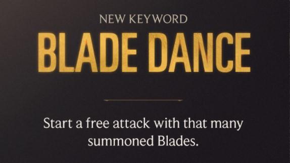 Blade Dance (LoR keyword)