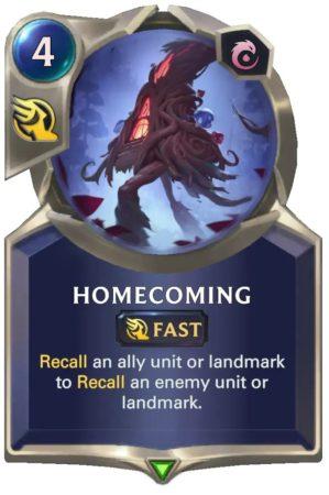 Homecoming (LoR Card)