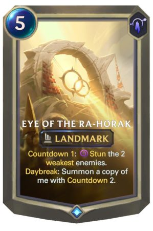 Eye of the Ra-Horak (LoR reveal)